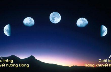 Phương Hướng – Mặt Trăng – Sao Mai