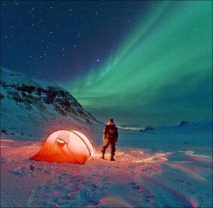 Camping-under-the-Aurora-Borealis-