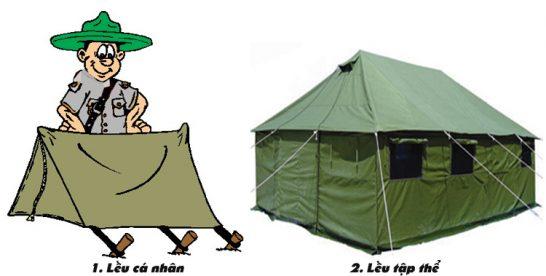 Trại mạc – Các kiểu lều trại (kỳ III)