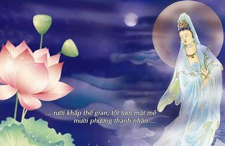 Nhạc Phật giáo Karaoke 462 – Kính lạy Bồ tát Quán Thế Âm – Chúc Linh
