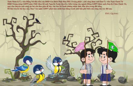 Tranh tô màu – Câu chuyện Chim Oanh Vũ 4 – Lương Hoàng Chuẩn