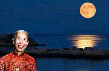 Nhạc Phật giáo karaoke 584 – Đêm Trăng Nhớ Mẹ – Thơ Phe X.Bach