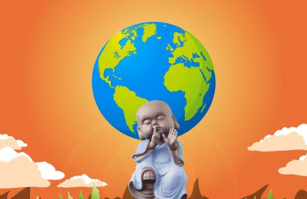 Nhạc Phật giáo karaoke 632 – Hoại kiếp địa cầu – Đức Quảng